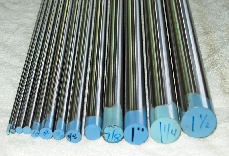 12L14A04MMR6 , 12L14 Precision Ground Rod