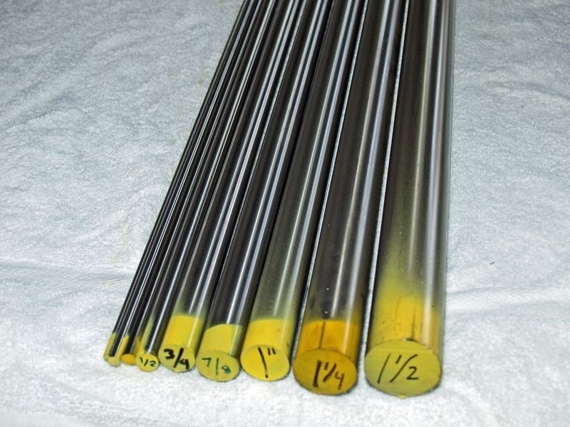 Stainless Steel Metric Rods
